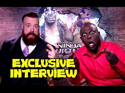 TMNT 2 Exclusive Interview w/ Sheamus & Gary Anthony Williams (Bebop & Rocksteady)
