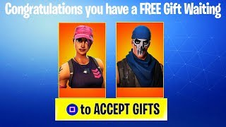 HOW TO GIFT NEW WARPAINT and ROSE TEAM LEADER SKINS! (Fortnite Gifting System & Birthday Challenges)