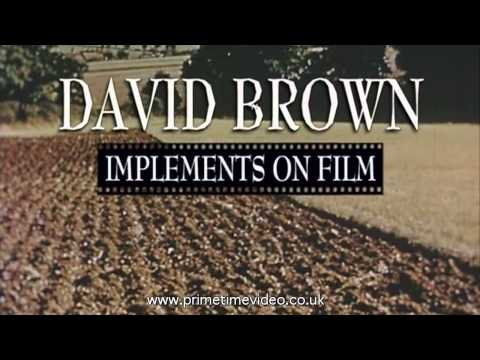 Working David Brown Tractors, Archive Film