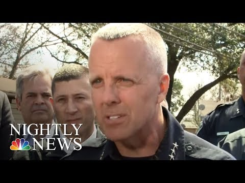 Austin On Edge After Spate Of Package Bombs Kills Two   NBC Nightly News