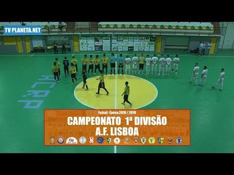 Resumo Futsal: PREGANÇA 3x3 ALTO DO MOINHO - 1ª Divisão AFL 2018/19