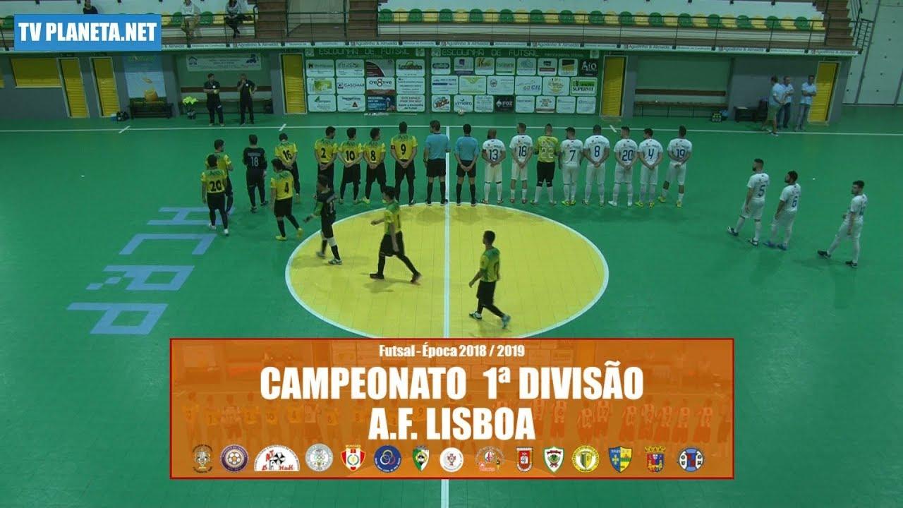 1d61eefddec7f Resumo Futsal  PREGANÇA 3x3 ALTO DO MOINHO - 1ª Divisão AFL 2018 19 ...
