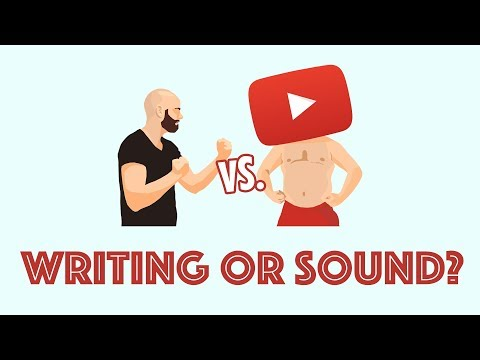 Would You Choose Writing Or Sound? | Me vs. The Internet