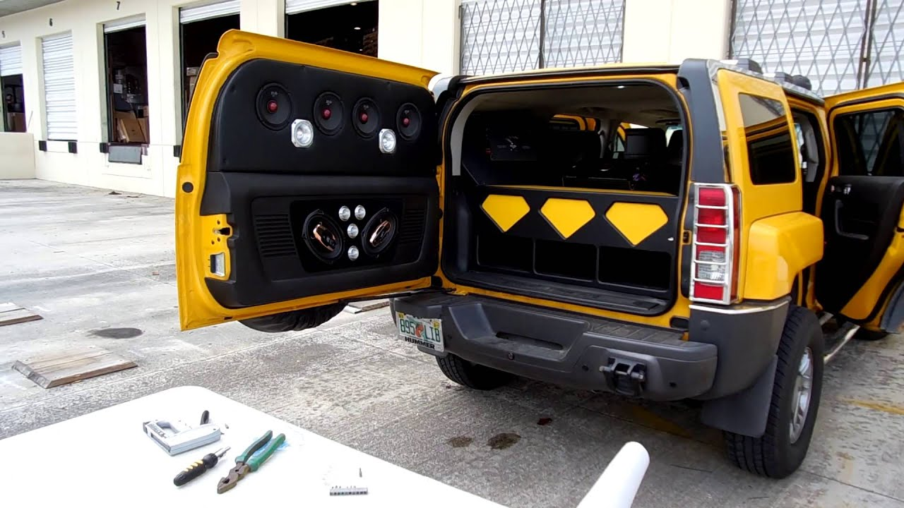 Hummer H3 DS 18 Miami Demo Car for Spirit pany by ADN Galaxy