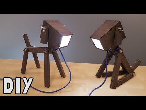 DIY Dog Lamp : How to make Video tutorial