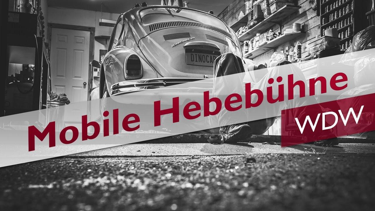 Top Erfahrung: Mobile Hebebühnen der Marke WDW im Test (Juli/2019) @BV_13