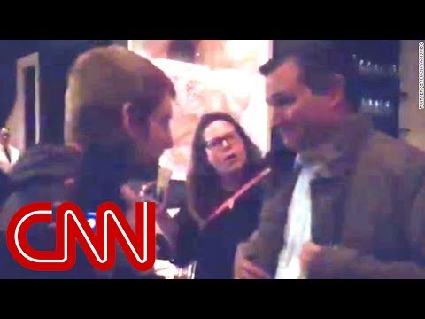 Protesters chase Ted Cruz from restaurant