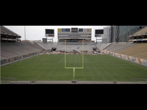 Changes for Entry into Sun Devil Stadium