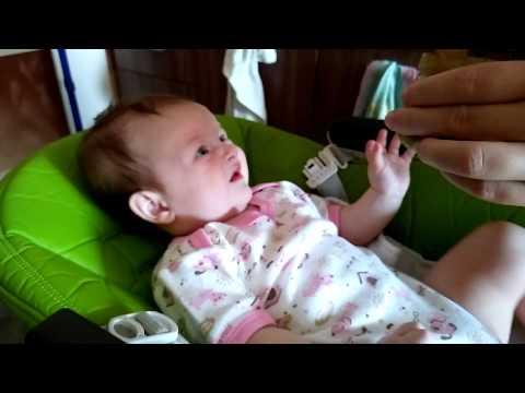 Первый прикорм брокколи. Ребенок 4 месяца.