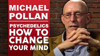 MICHAEL POLLAN - PSYCHEDELICS - HOW TO CHANGE YOUR MIND Part 1/2   London Real