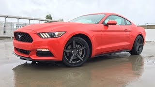 homepage tile video photo for 2016 Mustang V6 Stock Exhaust Revving Compilation