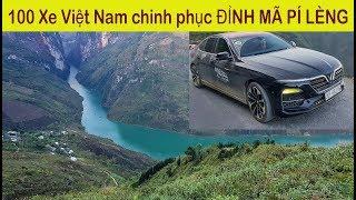 Gần 100 Xe Made in Việt Nam Vinfast Lux và Fadil chinh phục đỉnh Mã Pí Lèng Hà Giang