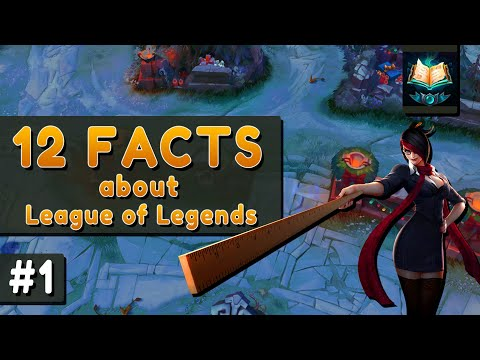 12 Facts about League of Legends - LoL Facts #1 thumbnail