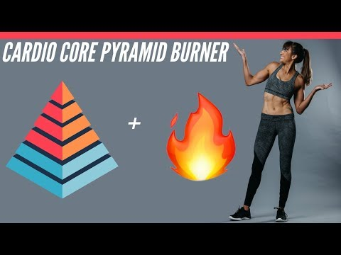 Cardio Core Pyramid Workout | No Equipment Needed