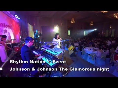 Rhythm Nation's Event - Johnson & Johnson The Glamorous Night