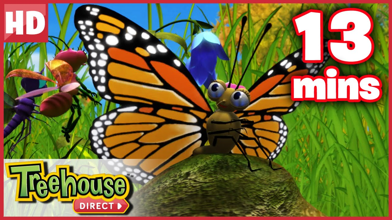 Download Miss Spider: The Befuddled Butterfly - Ep.40B   HD Cartoons