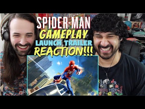 Marvel's SPIDERMAN  Gameplay Launch   PS4  REACTION!!!