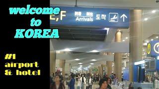 #1) A week trip to Korea/ airp…