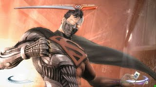 Injustice: Gods Among Us - Superman Super Move on all Characters 4K 60FPS gameplay All Costumes