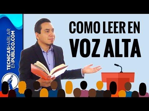 Lectura en Voz Alta: Cómo Leer en Público Sin Nervios | Técnicas de Oratoria y de Hablar en Público