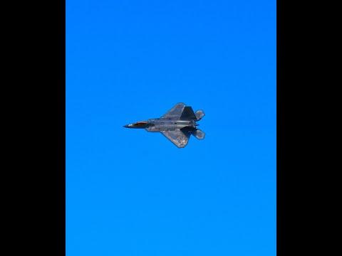 2020 New York International Airshow - F-22 Raptor Demonstration