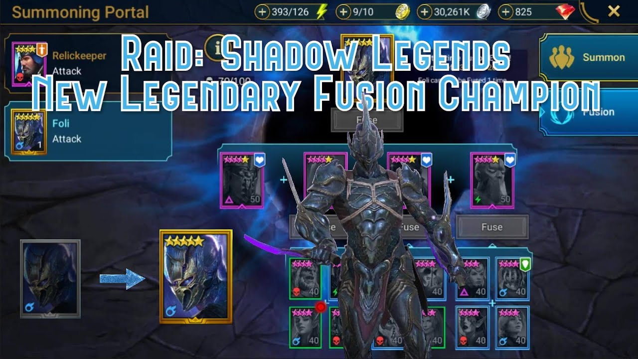 Raid Shadow Legends Fusion