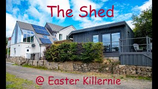 The shed at Easter Killernie - photoshoot