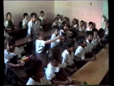 School class, San Pedro, Guatemala
