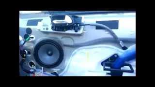Замена акустики Citroen С4 Sedan (2014)(Замена штатной акустики в автомобиле Citroen С4. Как снять, поставить дверные панели., 2014-09-08T19:42:20.000Z)