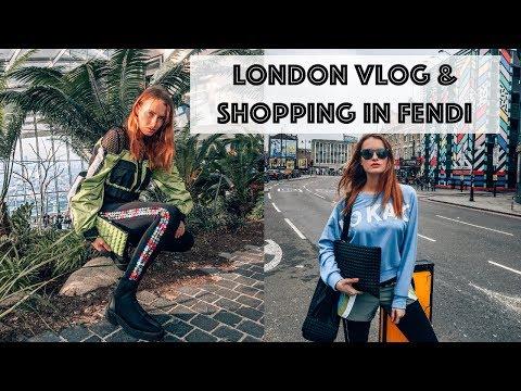 LONDON FASHION WEEK & FENDI BAGUETTE SHOPPING