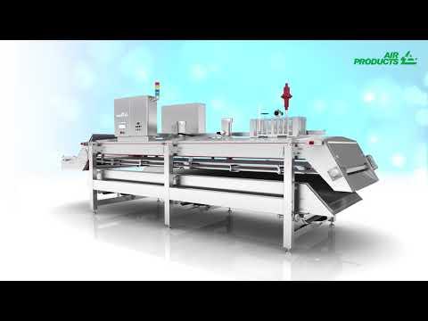 Freshline EF Nitrogen Tunnel Freezer