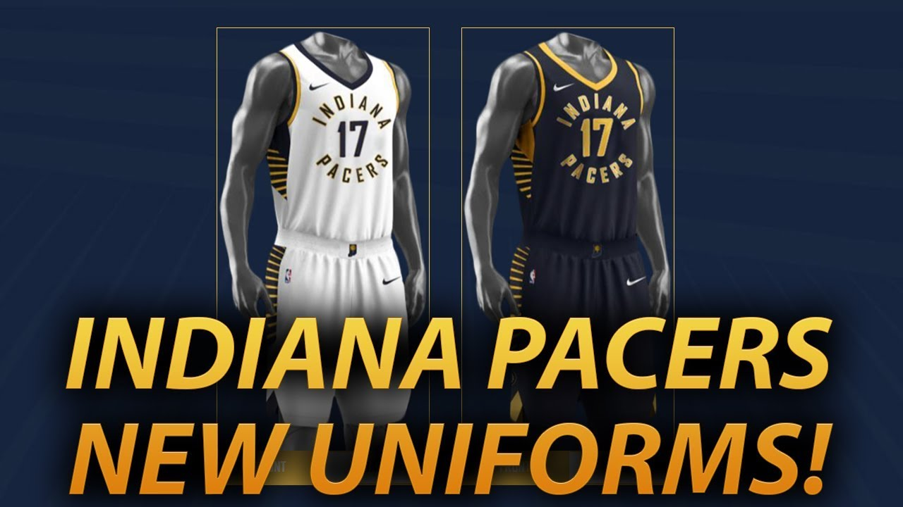 new products 0fced 03b24 INDIANA PACERS REBRAND REACTION! NEW UNIFORMS?