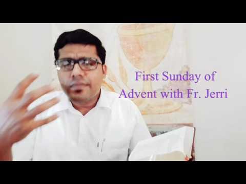 First Sunday Of Advent With Fr. Jerri Dias SJ