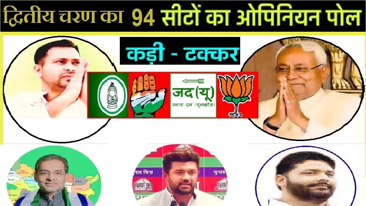 Bihar Election 2020 94 Seats | द्वितीय चरण की सीटों पर किसकी जीत ?