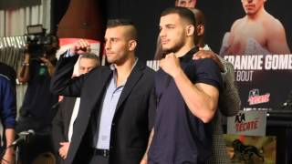 DAVID LEMIEUX v GLEN TAPIA - HEAD TO HEAD @ FINAL PRESS CONFERENCE / CANELO v KHAN