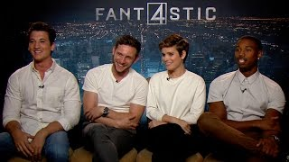 "The Cast of Fantastic Four Plays ""Would You Rather"""
