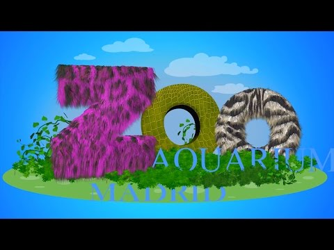 ZOO AQUARIUM MADRID in 4k