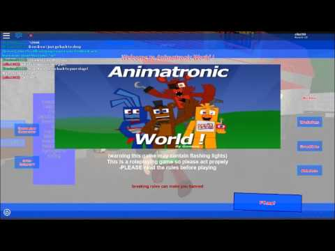 Roblox Animatronic World Bendy Easter Egg And More Youtube