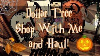 Dollar Tree Haul 🎃 | Shop With Me 🕷| Christmas Sneek Peek 🎄