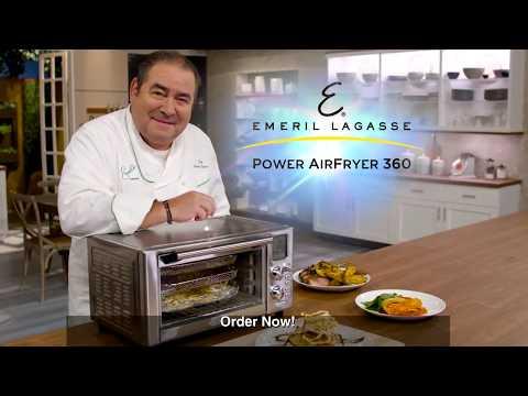 Emeril Lagasse Power AirFryer 360 TV Commercial