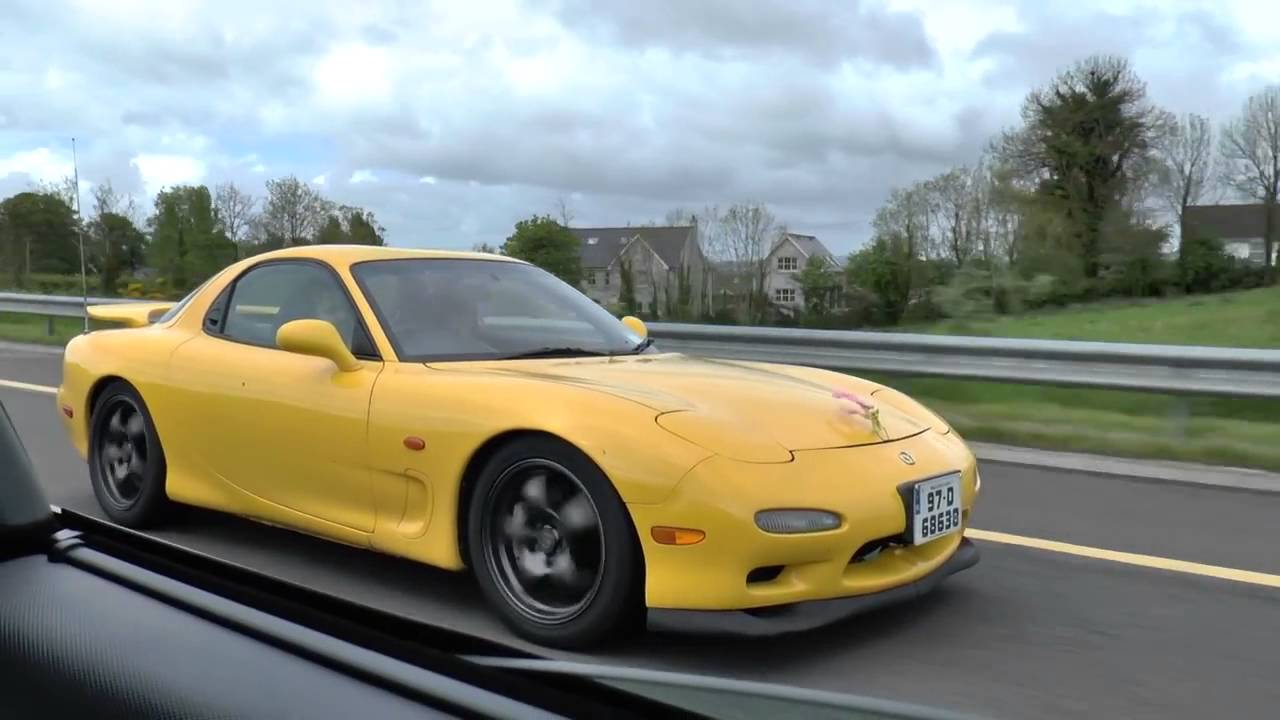 mazda rx7 type rs r (drive by) stavros969 - youtube