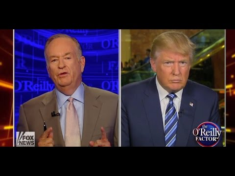 Bill O'Reilly Lectures Trump Over Racial Retweet