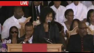 Whitney Houston Funeral /  Bebe & Cece Winans  perform (Pt. 2)