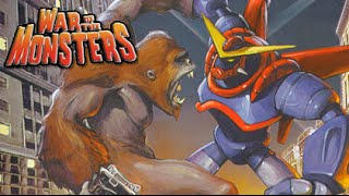 I'M A MODAF#%KING MONSTER! [WAR OF THE MONSTERS] [PS2]