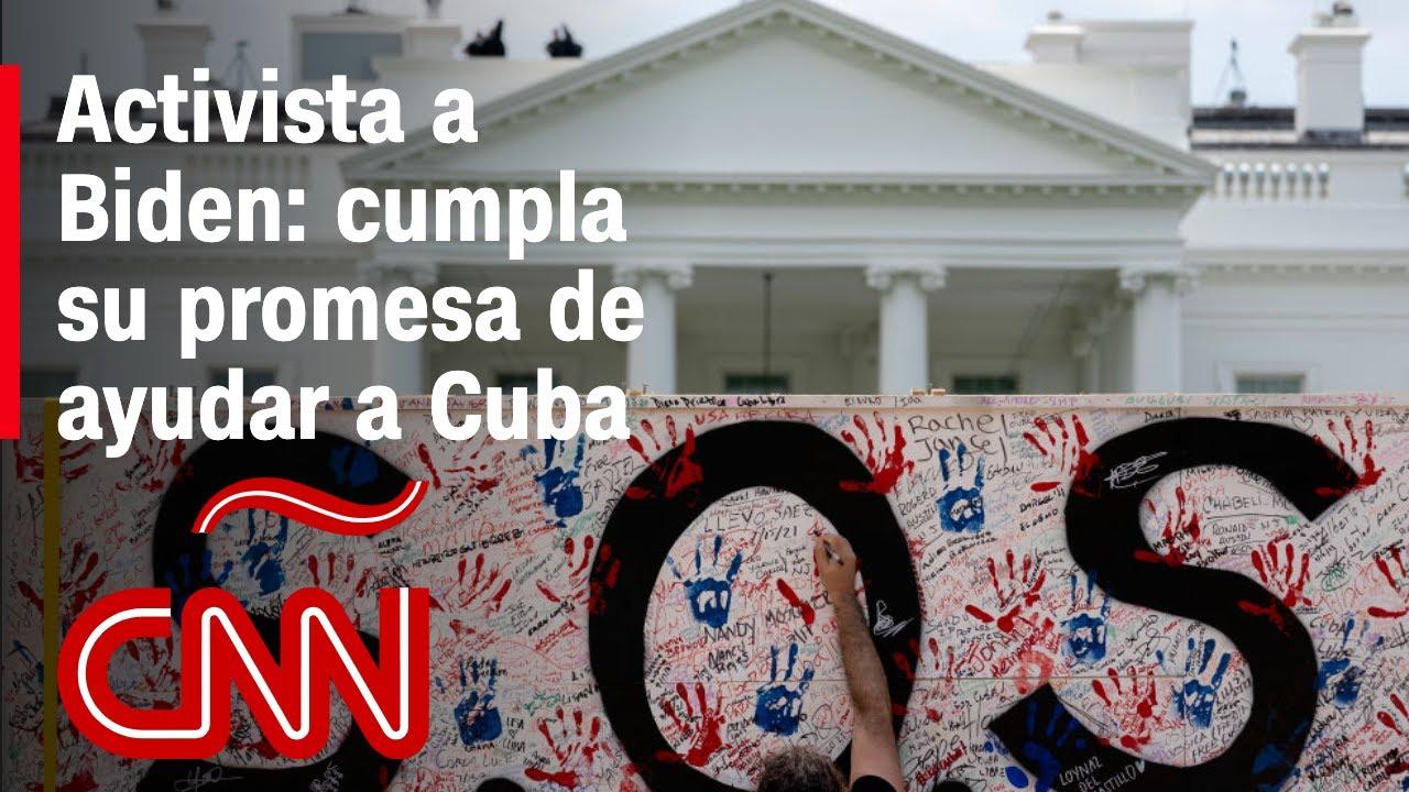 """Activista pide levantar las sanciones y establecer """"puentes de amor"""" entre Cuba y EE.UU."""