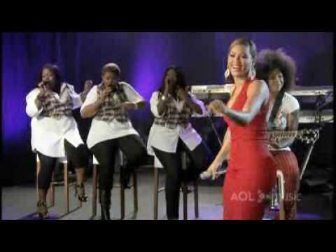 Beyonce Me, Myself & I Live AOL Music Sessions