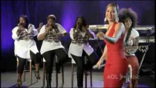 Beyonce Me, Myself & I Live AOL Music Sessions
