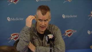 Thunder Exit Interviews: Billy Donovan