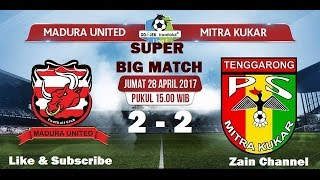 Video Gol Pertandingan Madura United vs Mitra Kukar