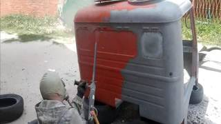 видео Самодельный пескоструйный аппарат